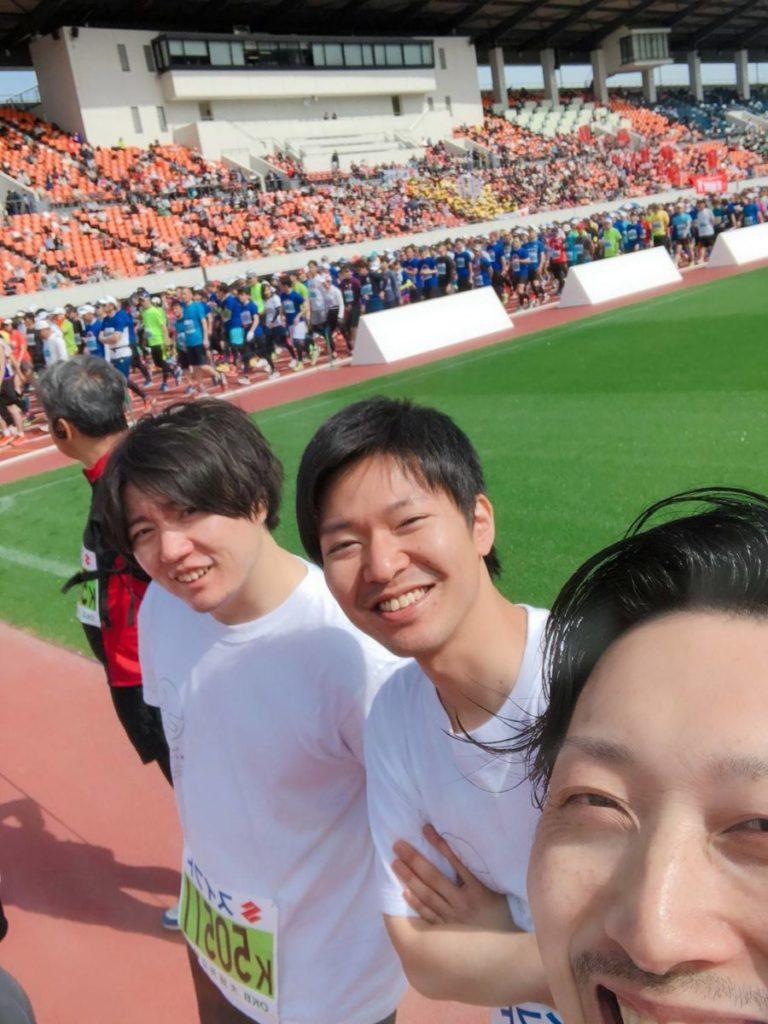岐阜清流ハーフマラソン(3キロ)参戦‼️