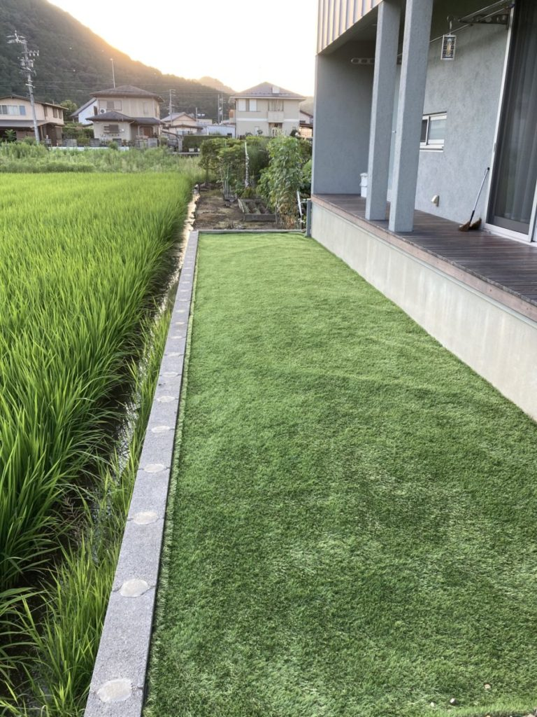 緑のあるお庭をDIYしてみました✌️